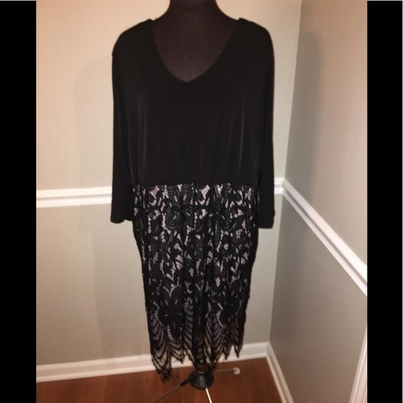 Maurice's women's plus size dress lace 3